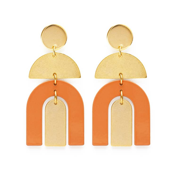 Amano Studio Moab Arches Earrings - Desert