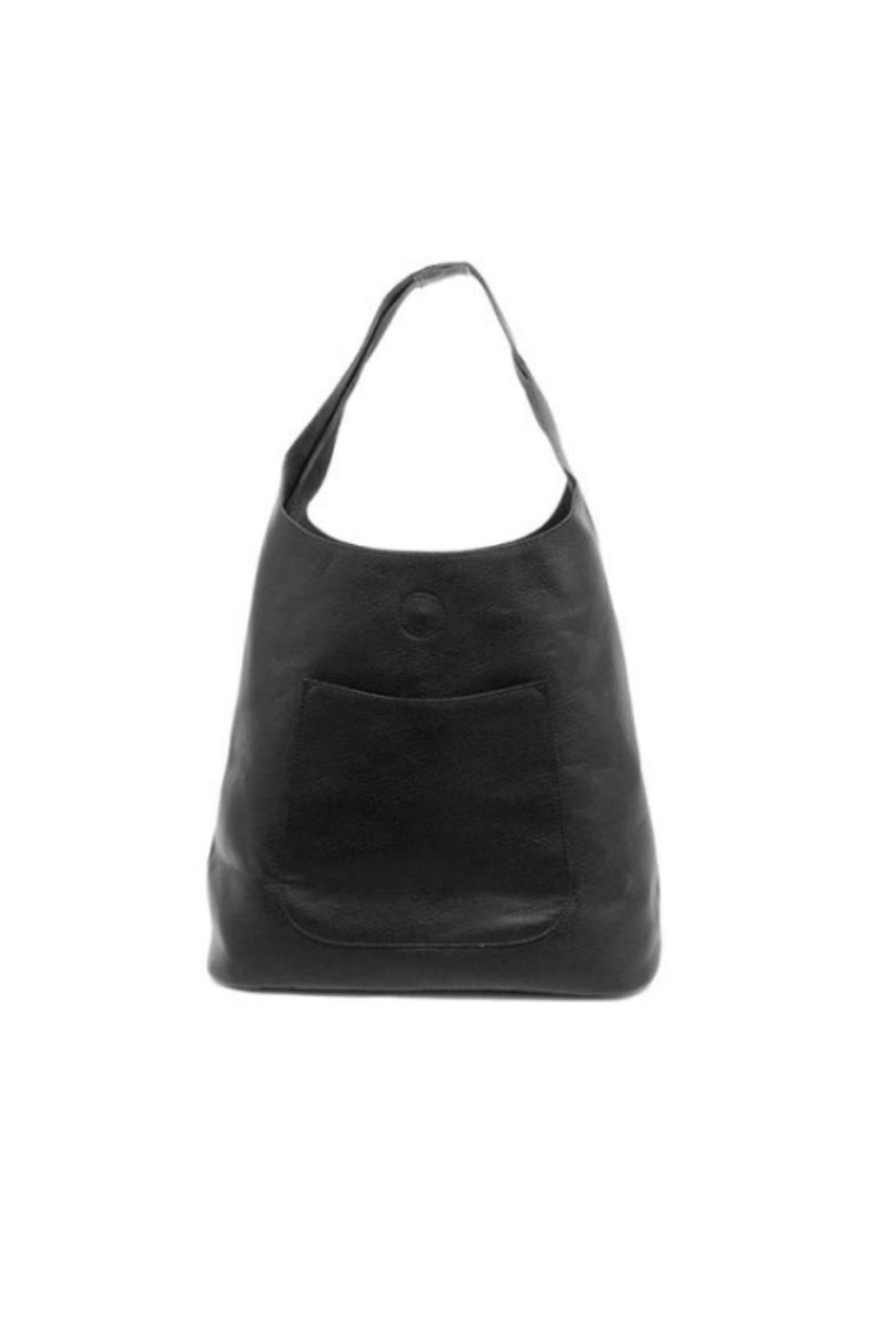 Joy Susan Molly Slouchy Hobo Bag - Black