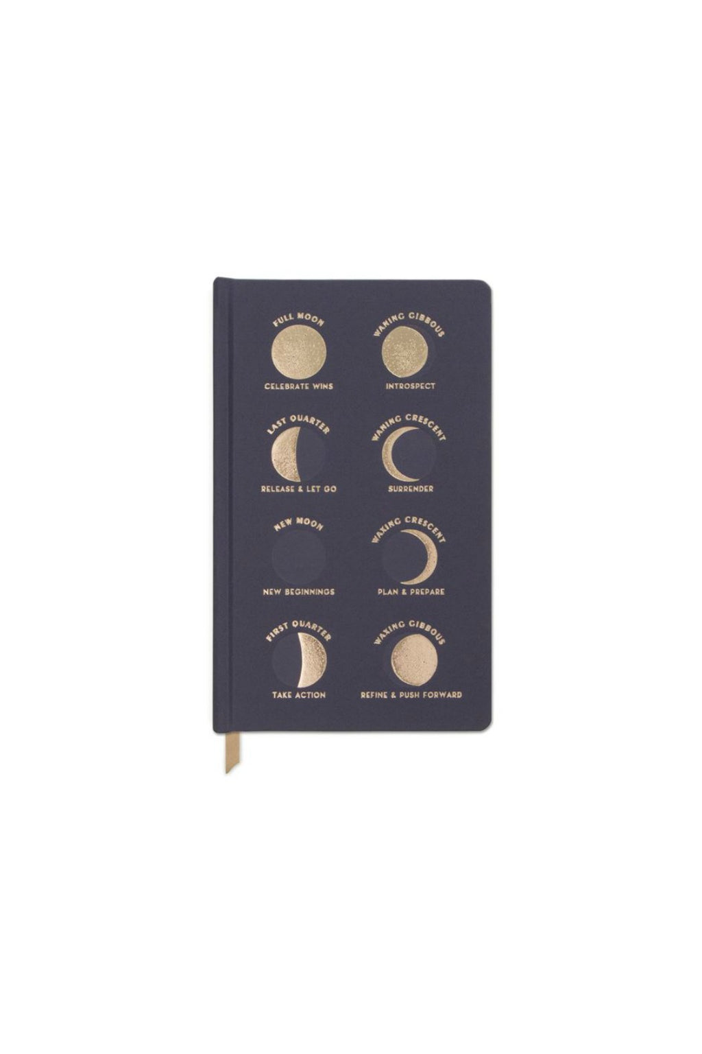 Designworks Ink Matte Hardcover Journal - Moon Phases