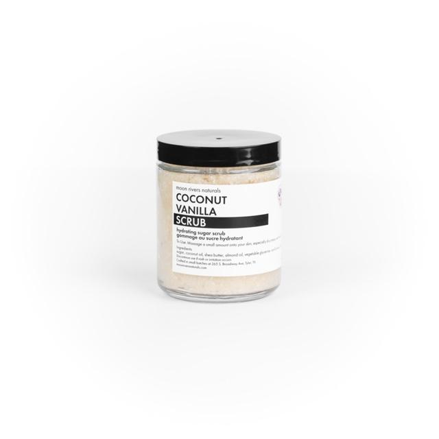 Moon Rivers Naturals 9 oz. Scrub - Coconut Vanilla
