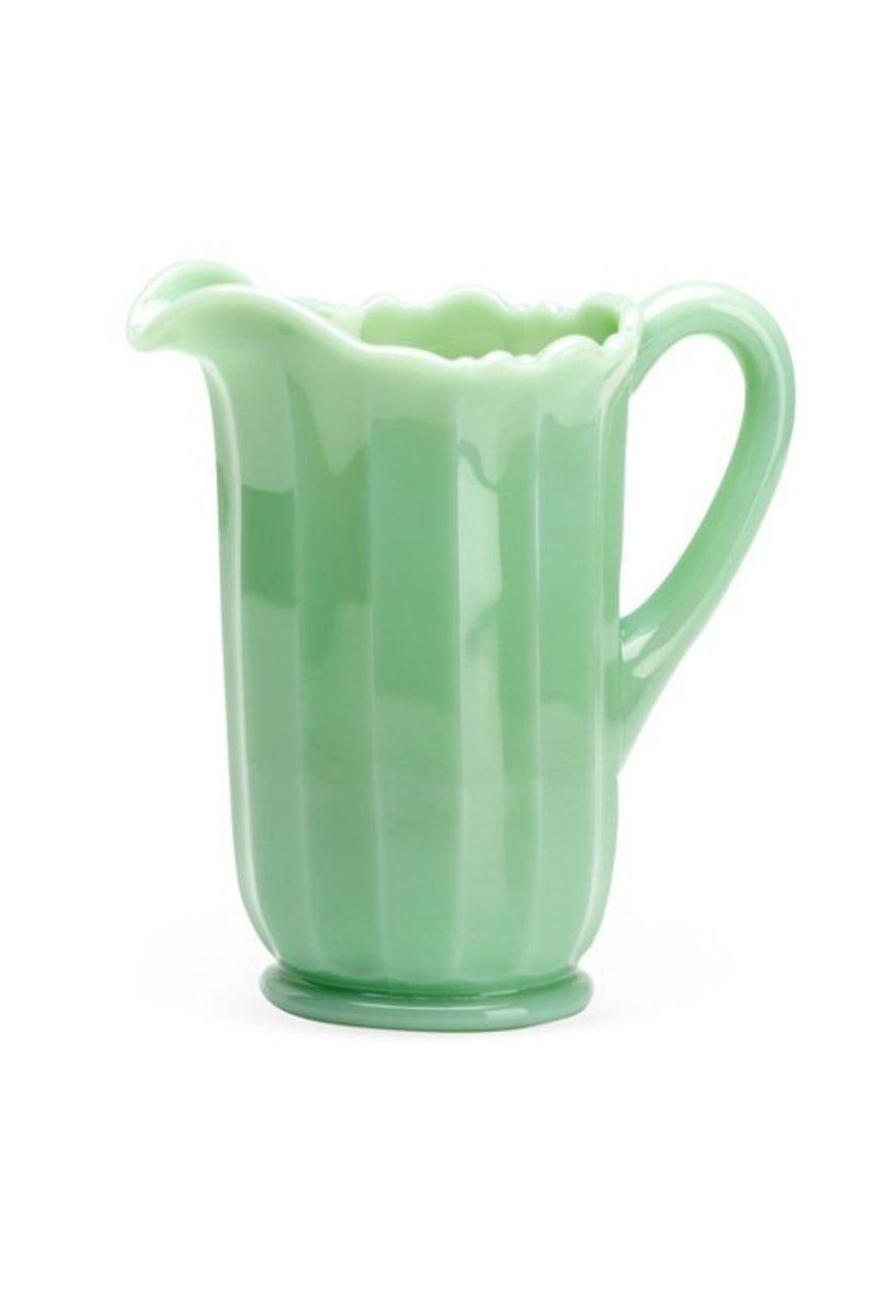 Mosser Glass Pitcher - Jade