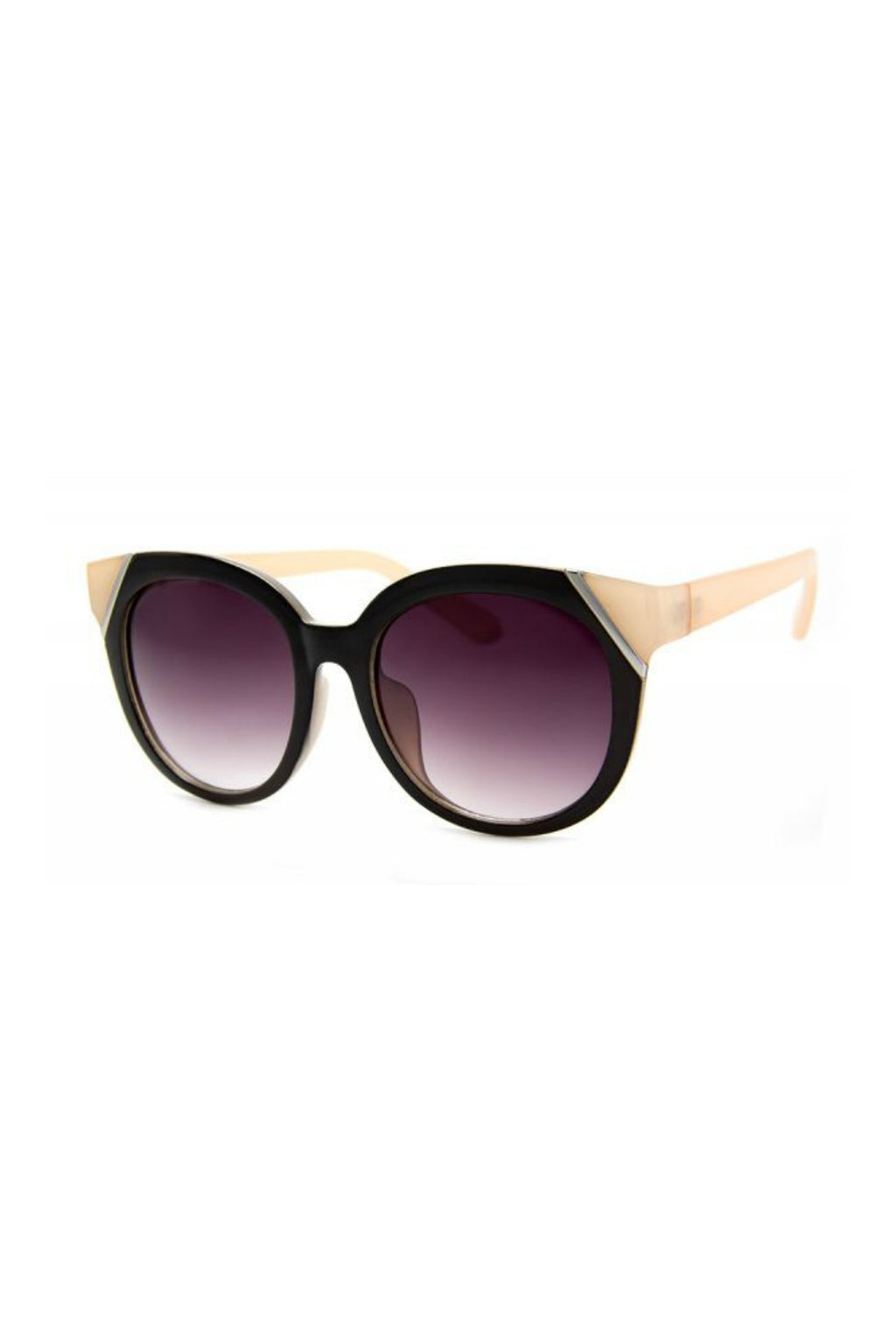 Mulberry Street Sunnies - Black/Cream