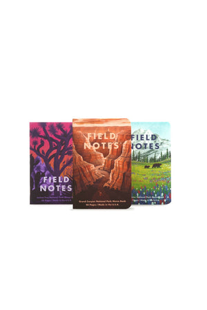 Field Notes National Parks - Series B