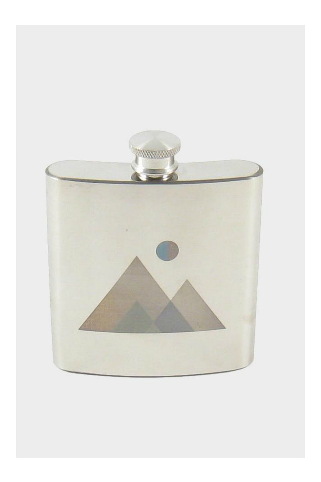 Roost Small Nature Etched Flask