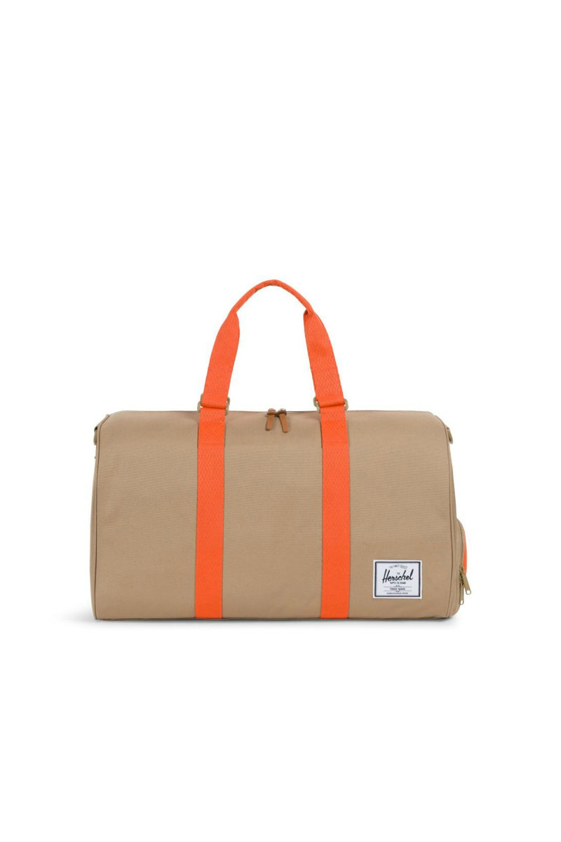 Herschel Supply Co. Novel Duffle in Kelp/Orange