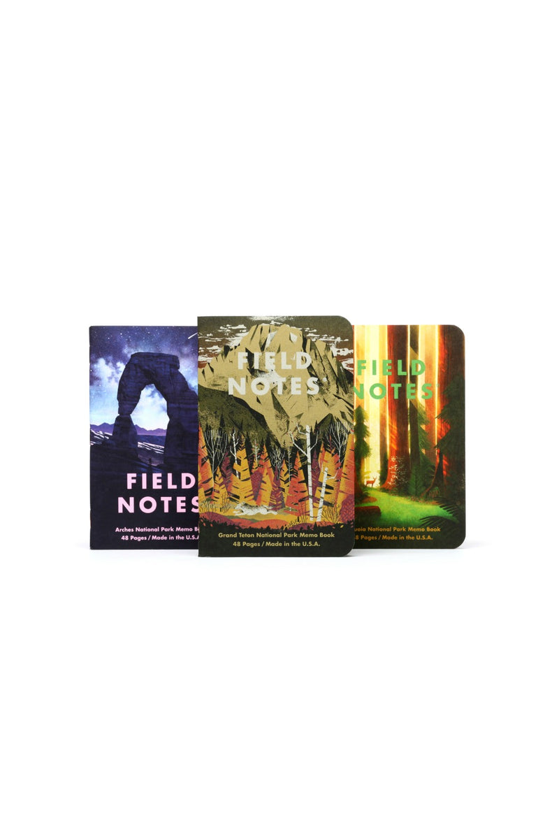 Field Notes National Parks - Series D