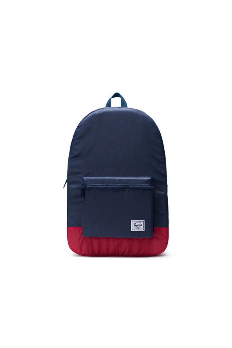 Herschel Supply Co. Packable Daypack - Navy/Red