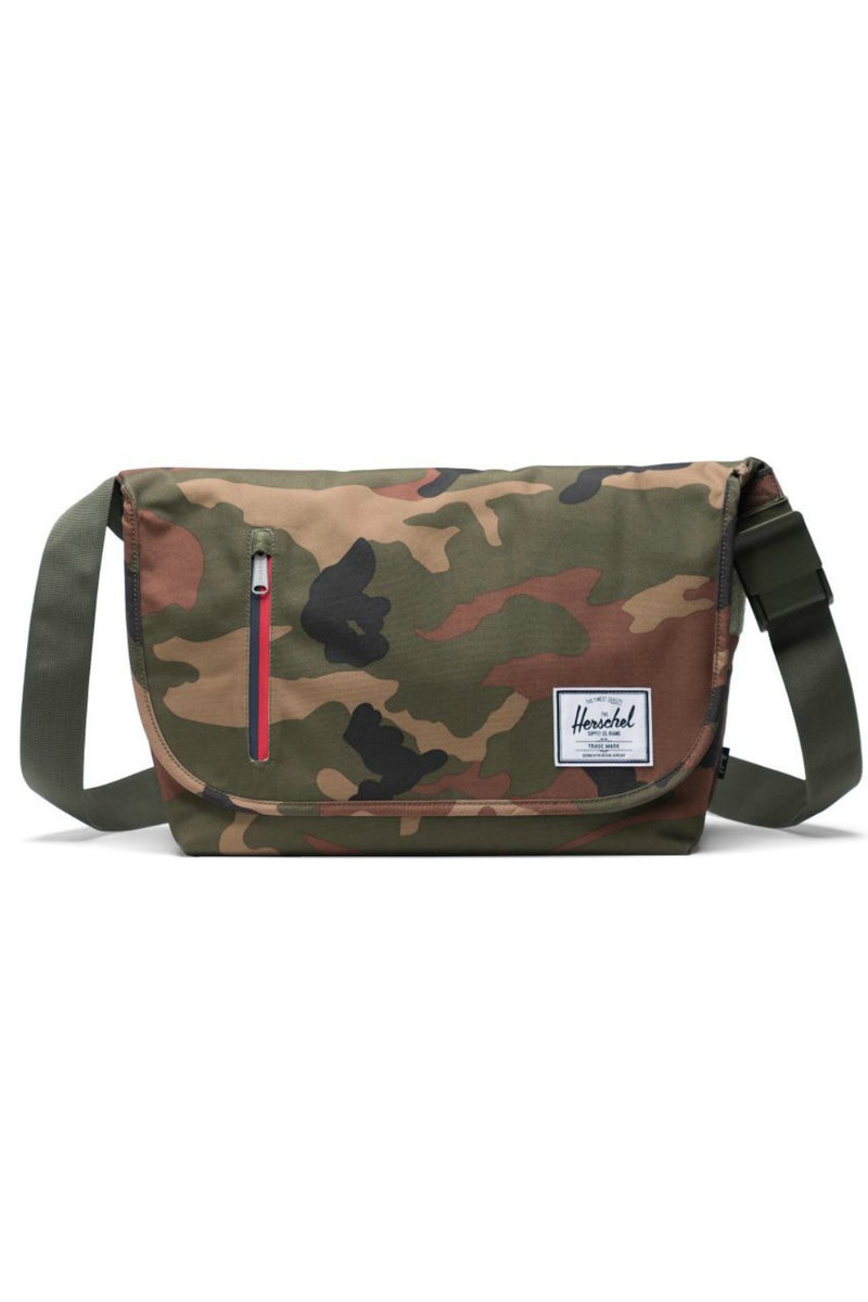 Herschel Supply Co. Odell Messenger in Woodland Camo