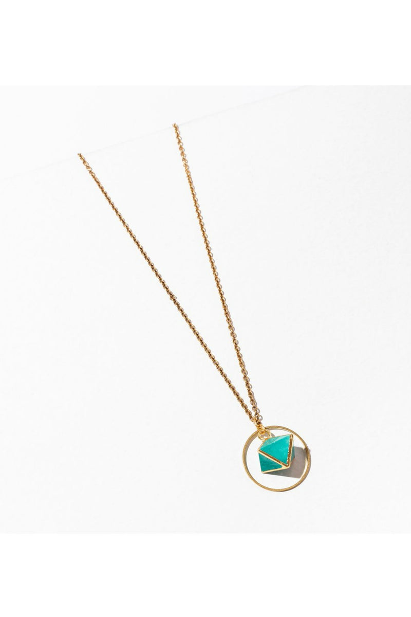 Larissa Loden Orb Necklace - Turquoise