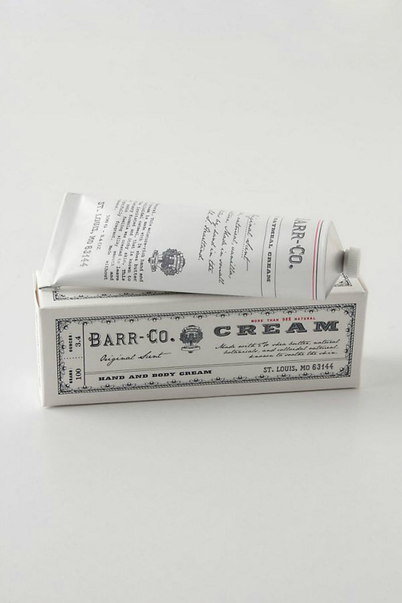 Barr-Co. Hand & Body Cream 3.4 oz. - Original Scent