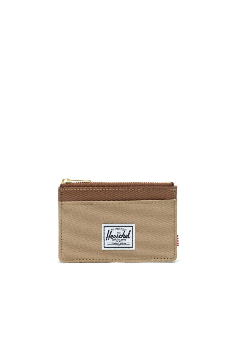 Herschel Supply Co. Oscar Wallet in Kelp/Saddle