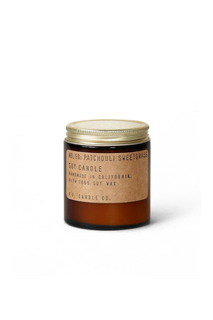 P. F. Candle Co. Mini Soy Candle - Patchouli Sweetgrass