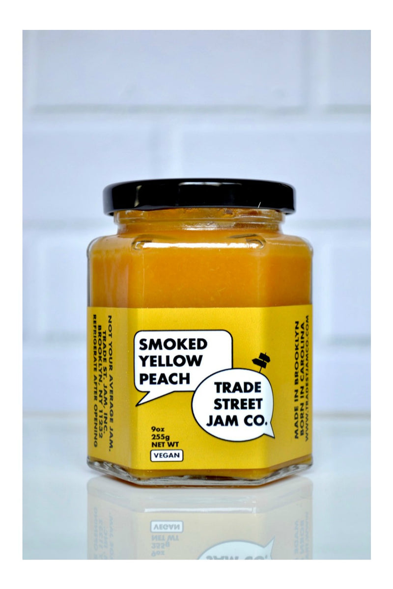 Smoked Yellow Peach Jam