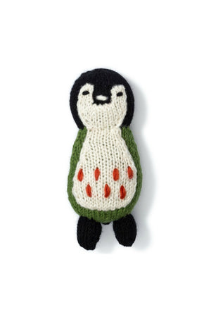 Love Thy Beast Knit Penguin Toy