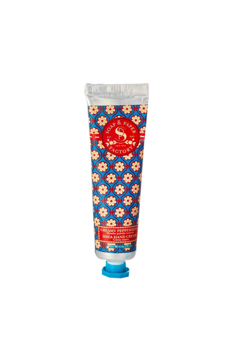 Soap & Paper Factory Petite Hand Cream 1 oz. - Creamy Peppermint