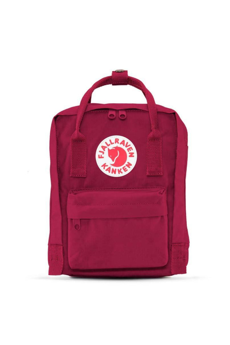 Fjällräven Kånken Mini Backpack in Plum