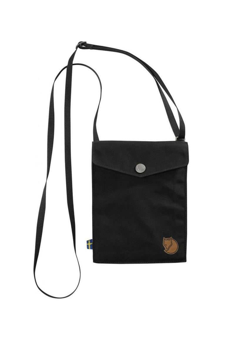 Fjällräven Pocket Shoulder Bag in Black