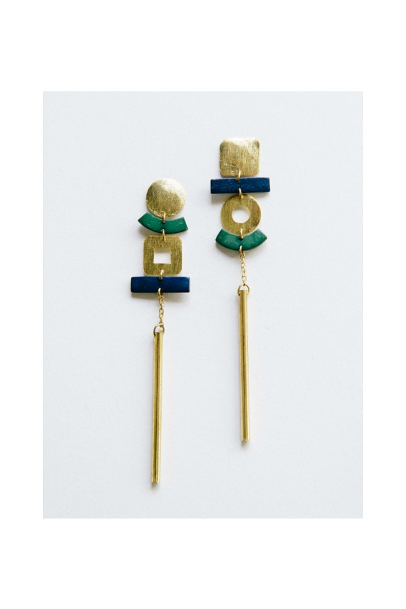 Mata Traders Pop Art Earrings
