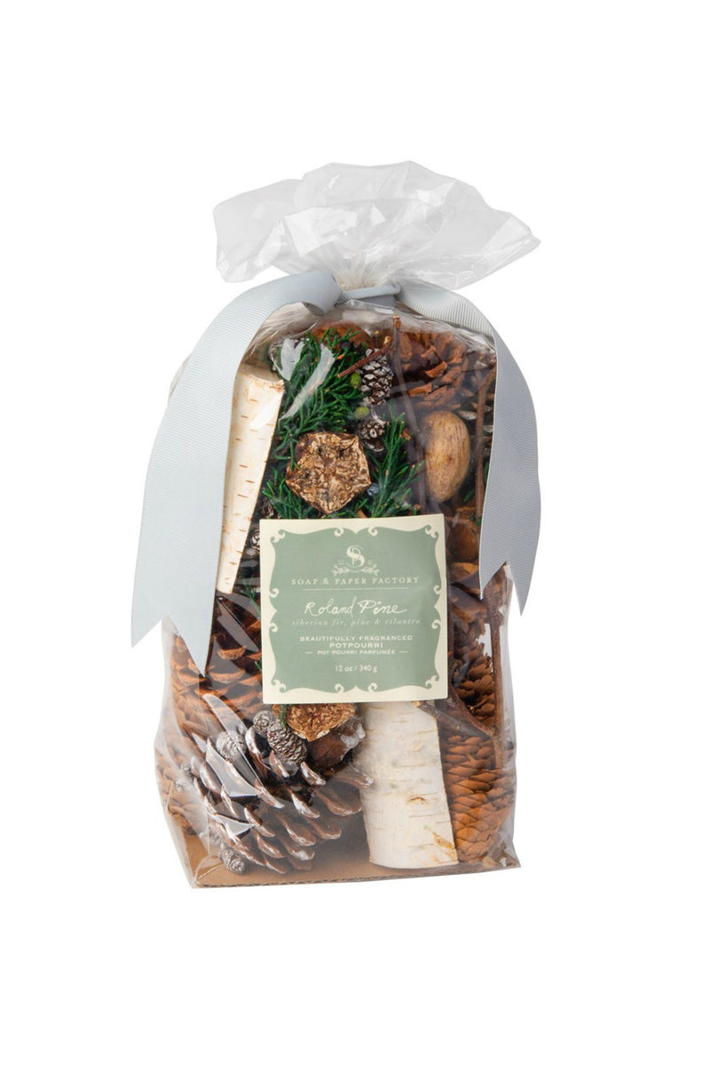 The Soap & Paper Factory - Roland Pine Fragranced Potpourri