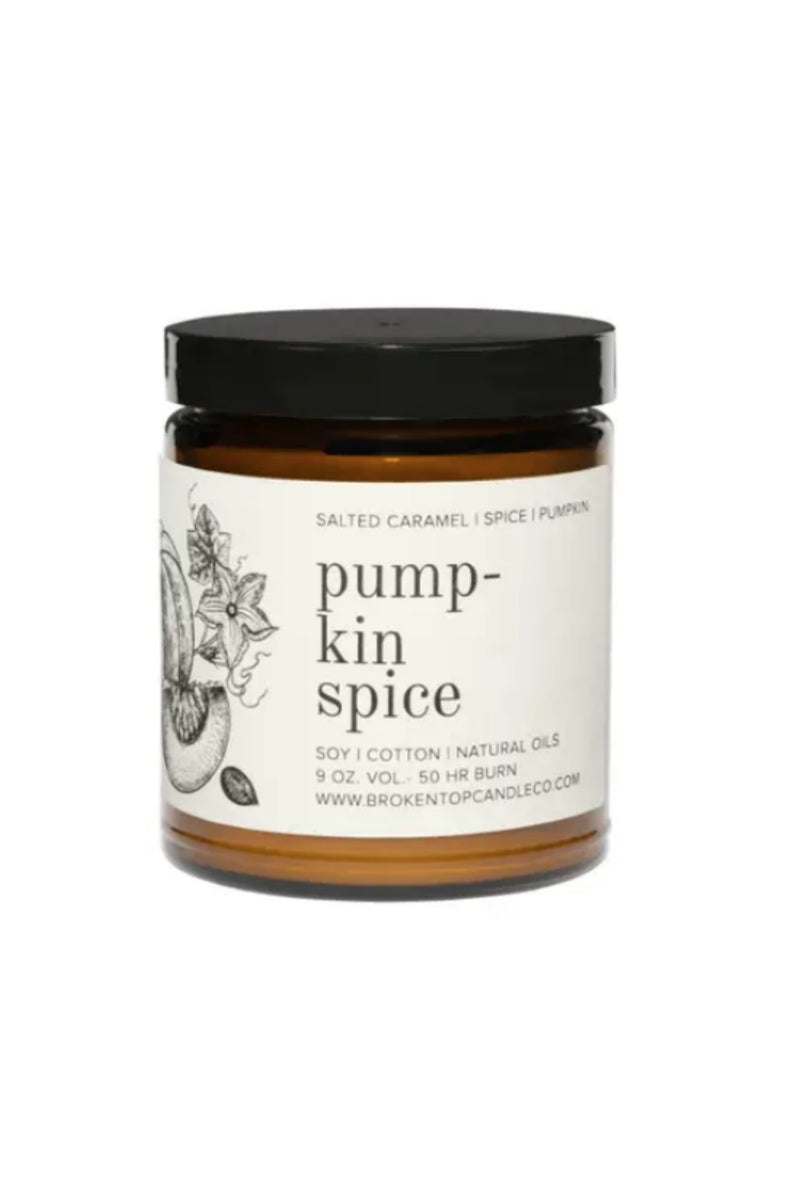 Broken Top Candle Co. 9 oz. Soy Candle - Pumpkin Spice