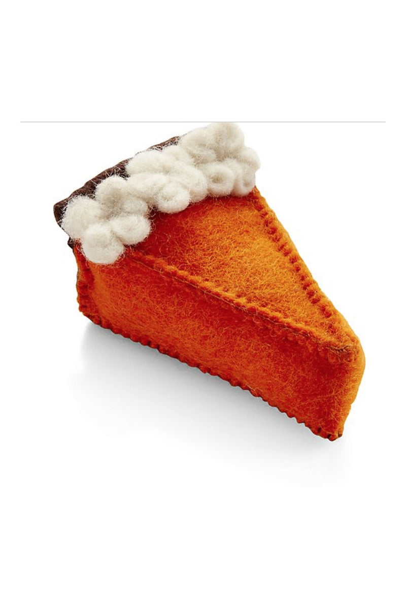 Love Thy Beast Wool Pumpkin Pie Toy