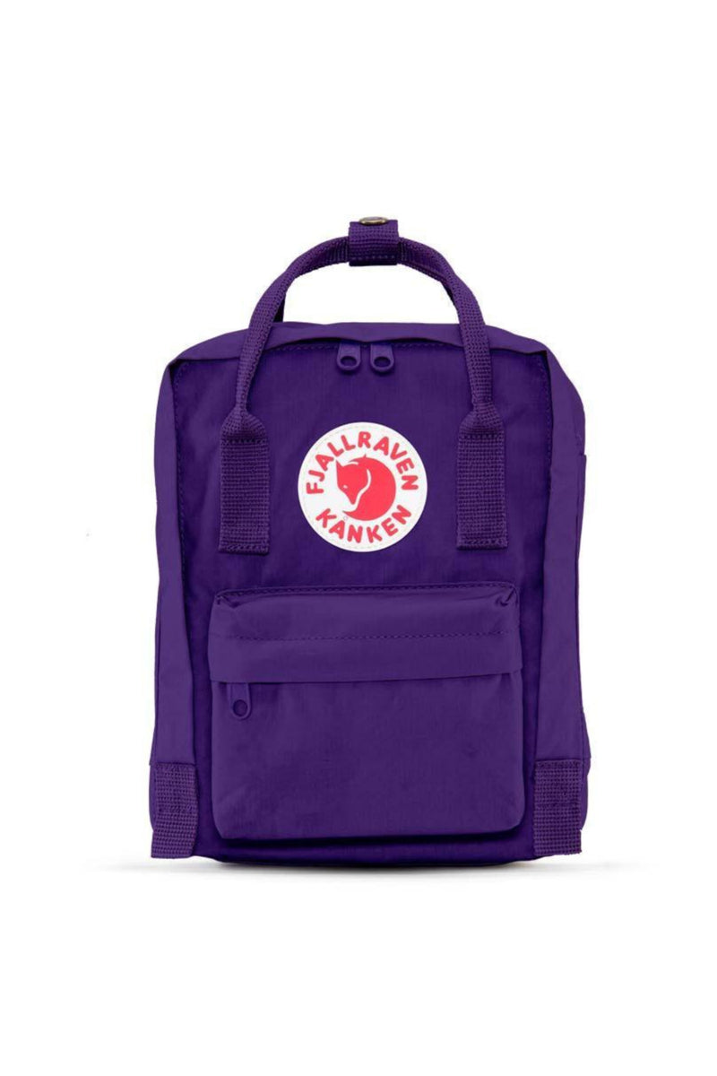 Fjällräven Kånken Mini Backpack in Purple