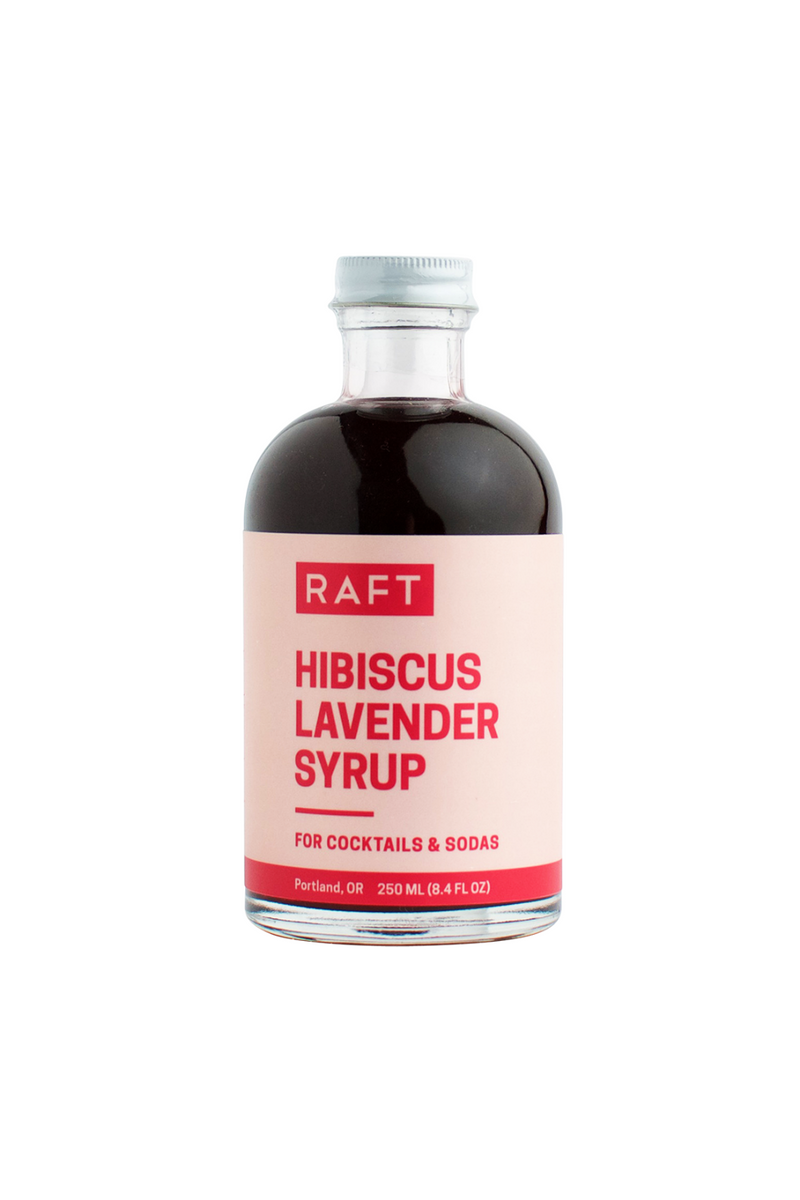 Raft Syrups 8.4 oz Cocktail Syrup - Hibiscus Lavender