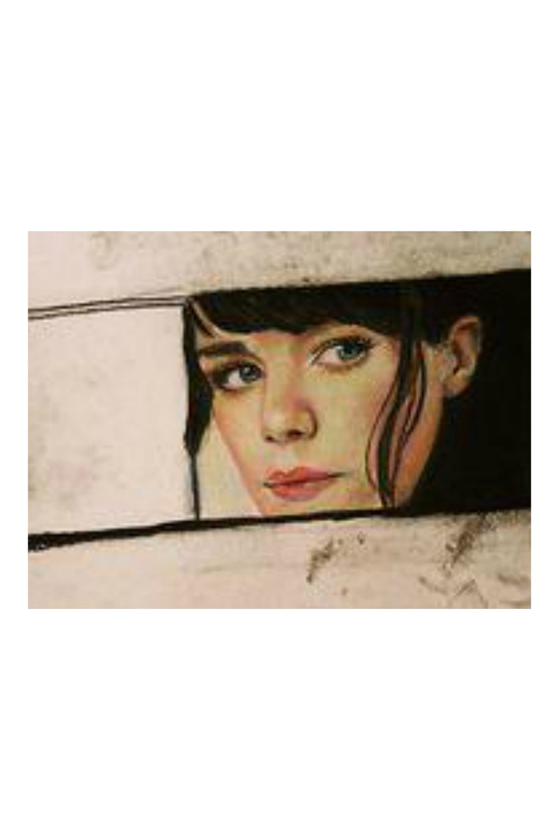 Caryn Cast Print - Rearview Mirror