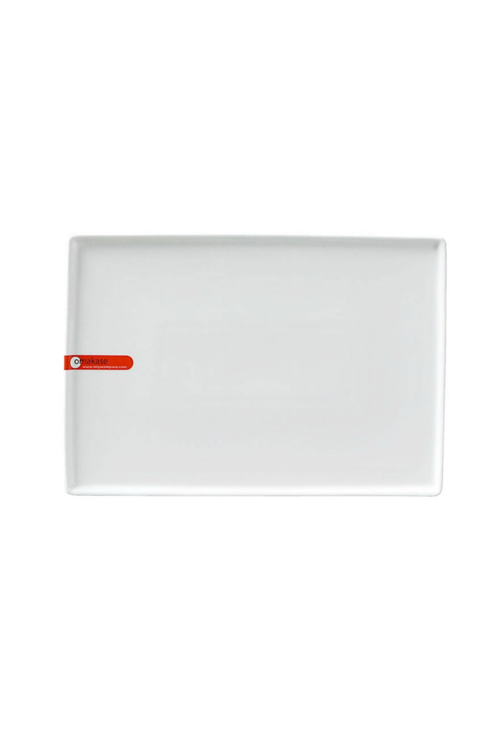 Miya Modern Rim Rectangle Plate