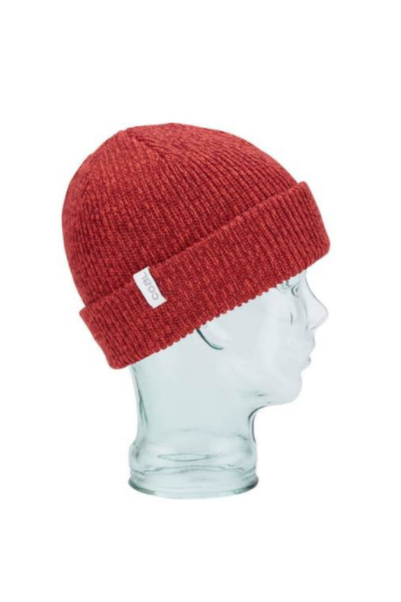 Coal Frena Beanie in Red Marl