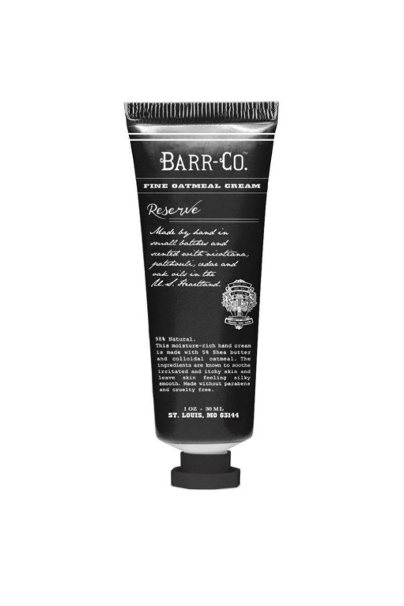 Barr-Co. Mini Hand Cream - Reserve