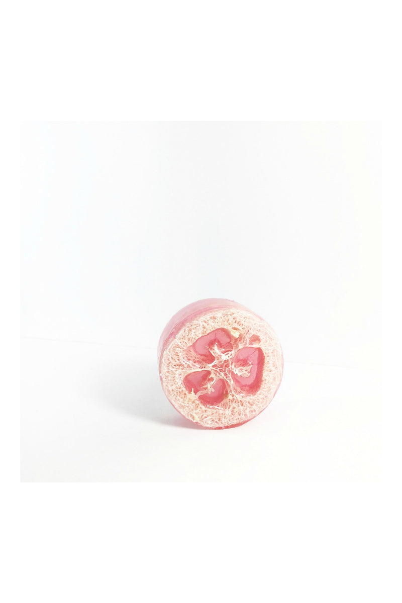 Honey Belle Loofah Soap - Rose