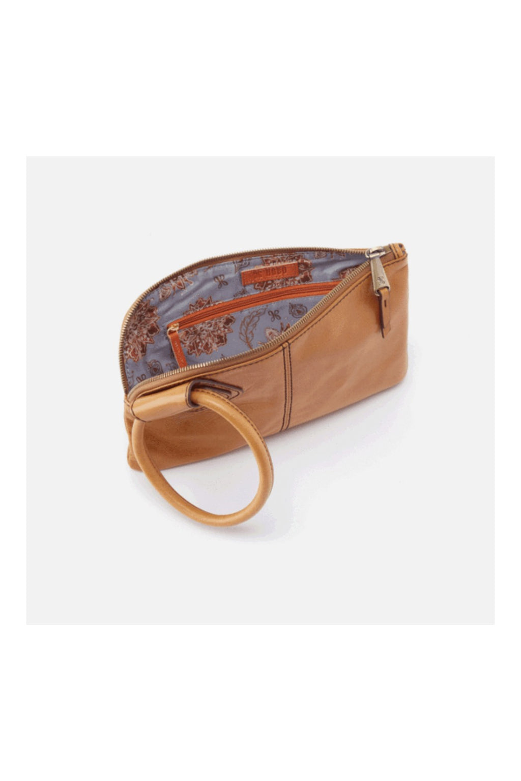 Hobo Sable Wristlet - Honey