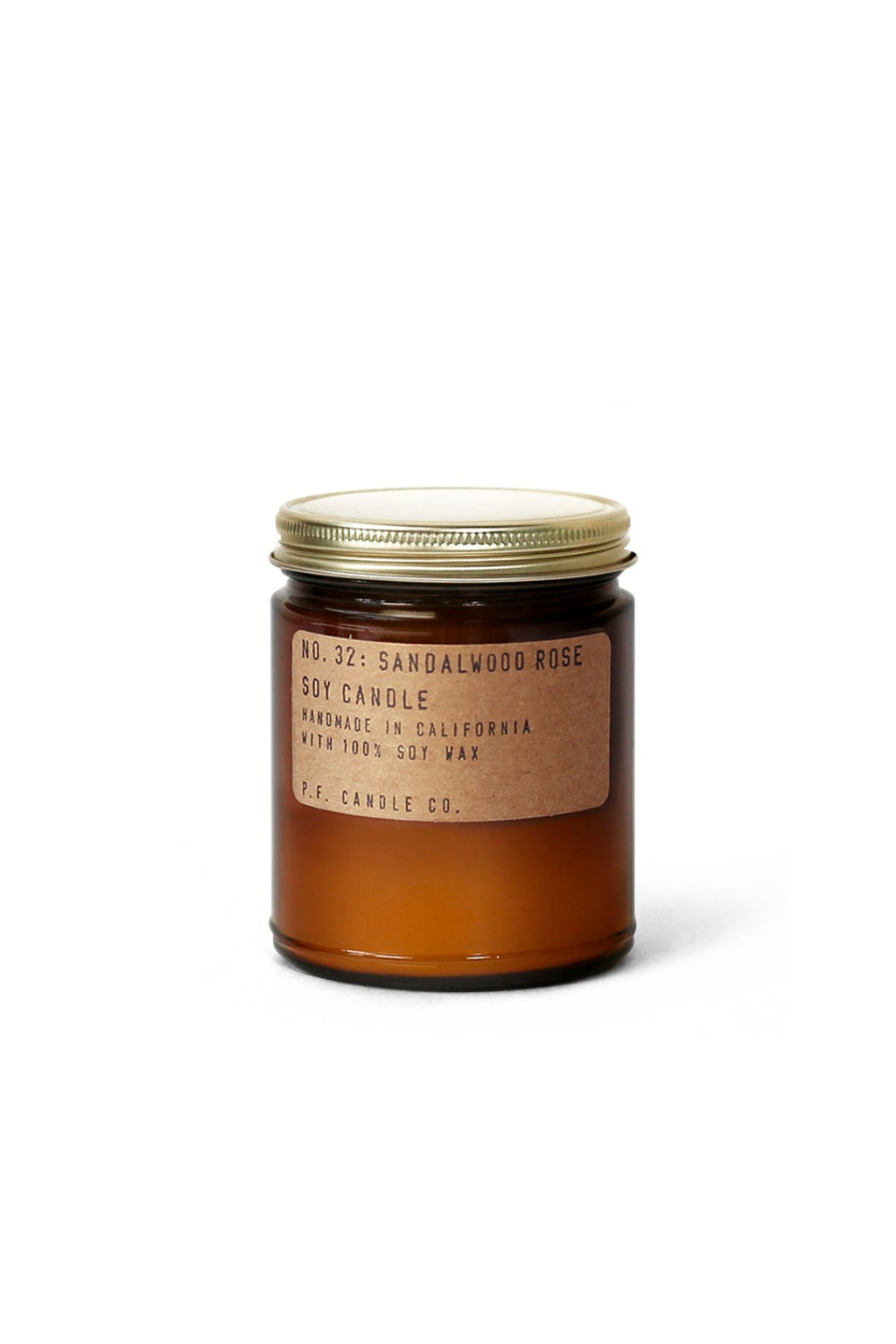 P. F. Candle Co. Mini Soy Candle - Sandalwood Rose