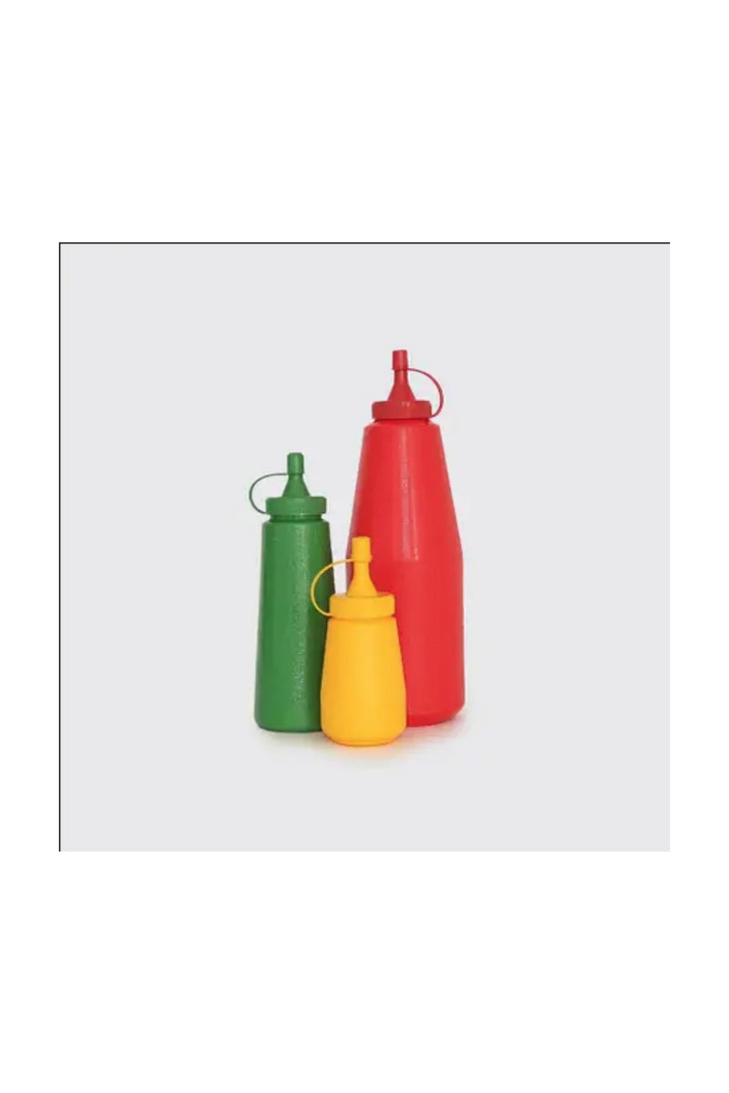 3-Piece Condiment Set - Red/Yellow/Green