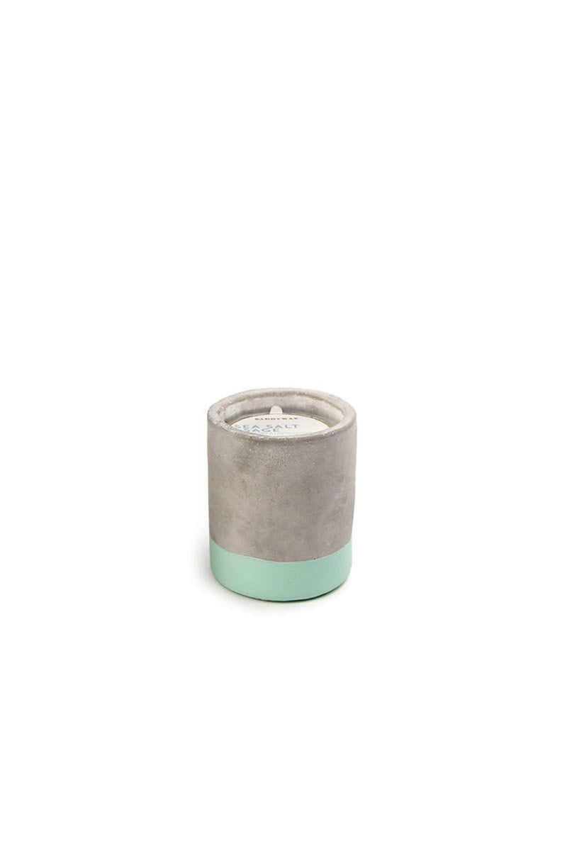 Paddywax Urban Concrete Candle - Sea Salt & Sage