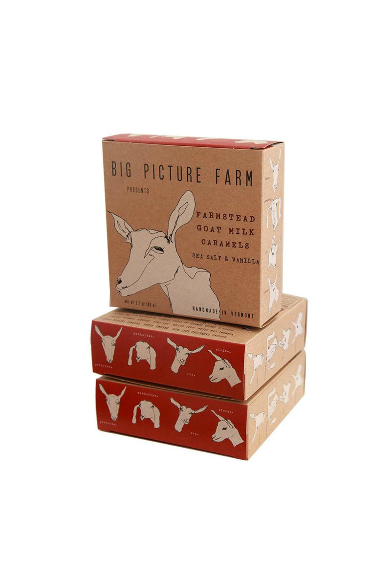Big Picture Farm 11 Piece Caramel Farm Box - Sea Salt/Vanilla