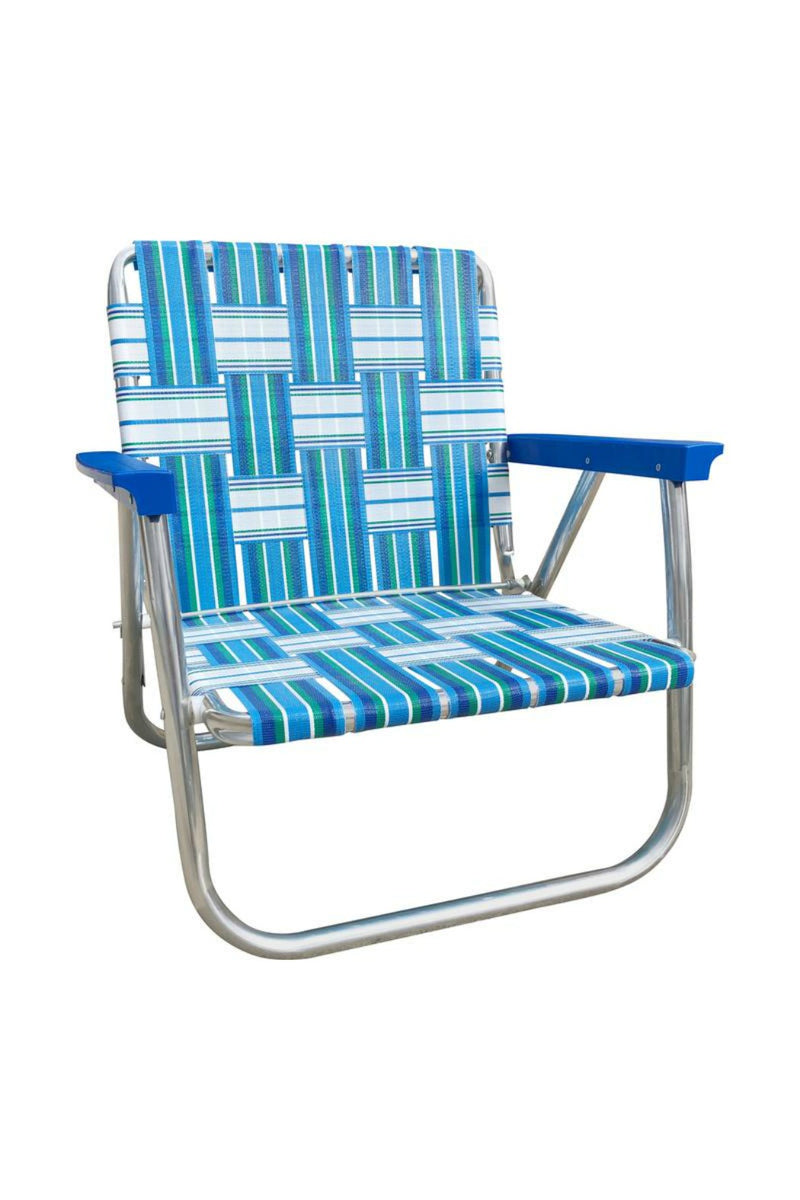 Lawn Chair USA Lowback Beach Chair - Sea Island