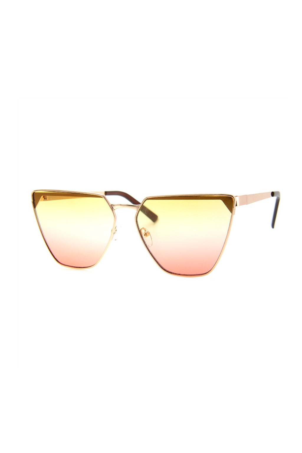 Seize Sunnies in Rose Gold