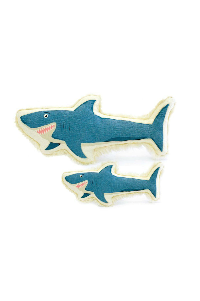 Harry Barker Large Canvas Shark Dog Toy
