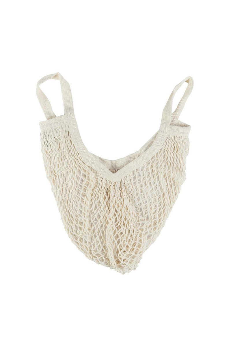 Ecobags Organic Cotton Short Handle Net Bag
