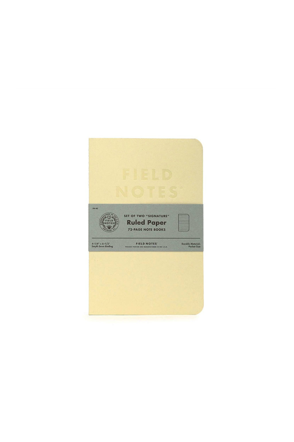 Field Notes Signature Sketch Book & Note Book - Ruled Paper