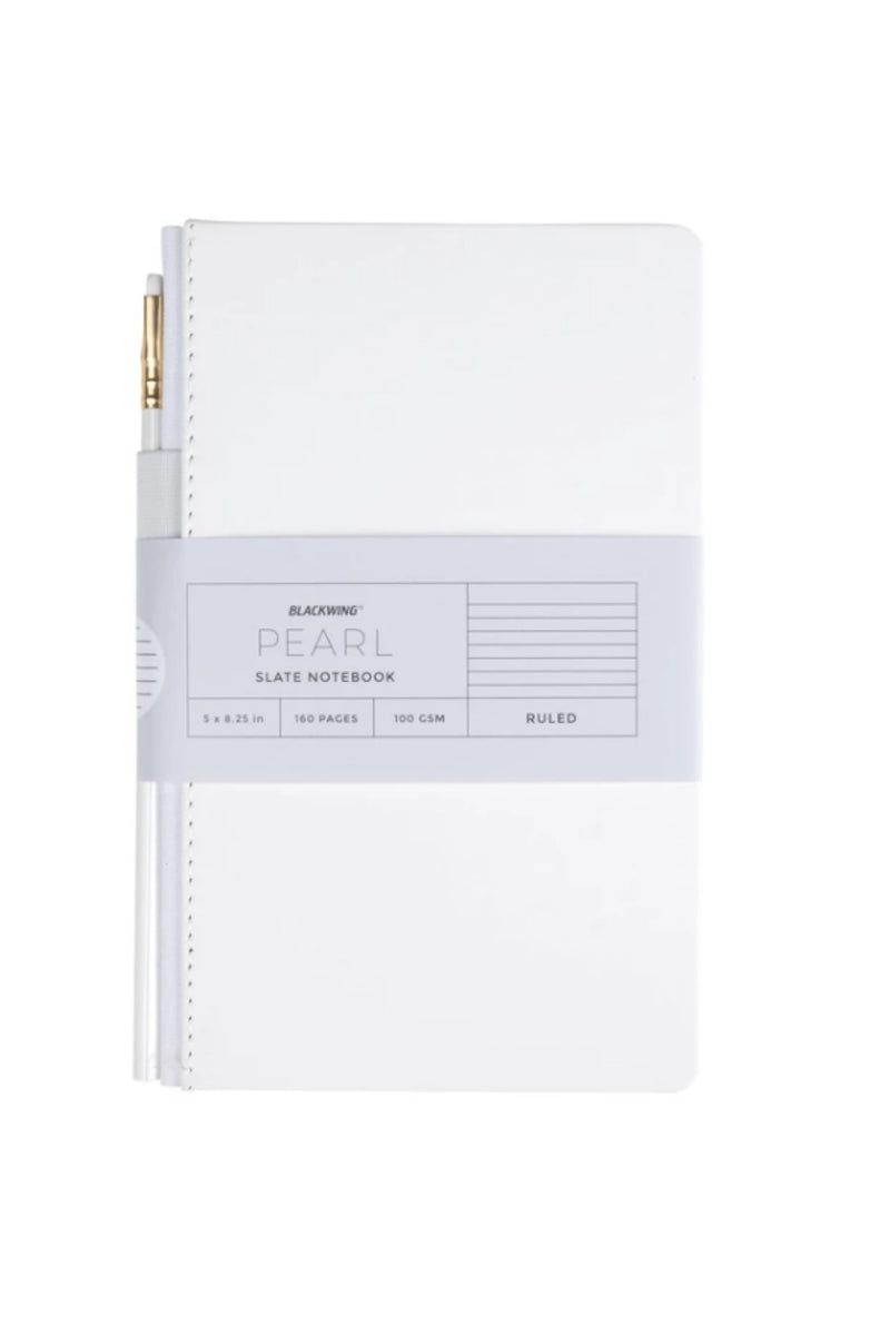Blackwing Slate Journal Plain Paper - Pearl