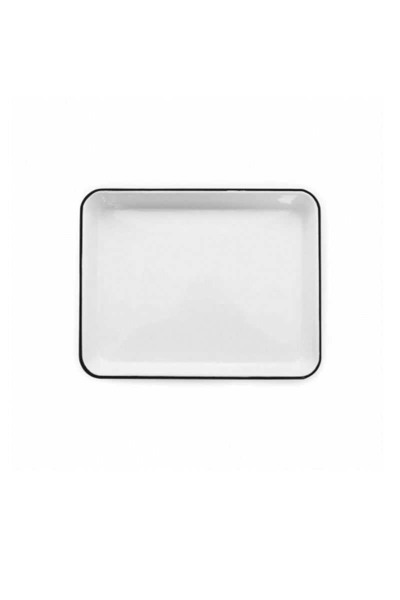 Crow Canyon Home Small Rectangle Tray - Black