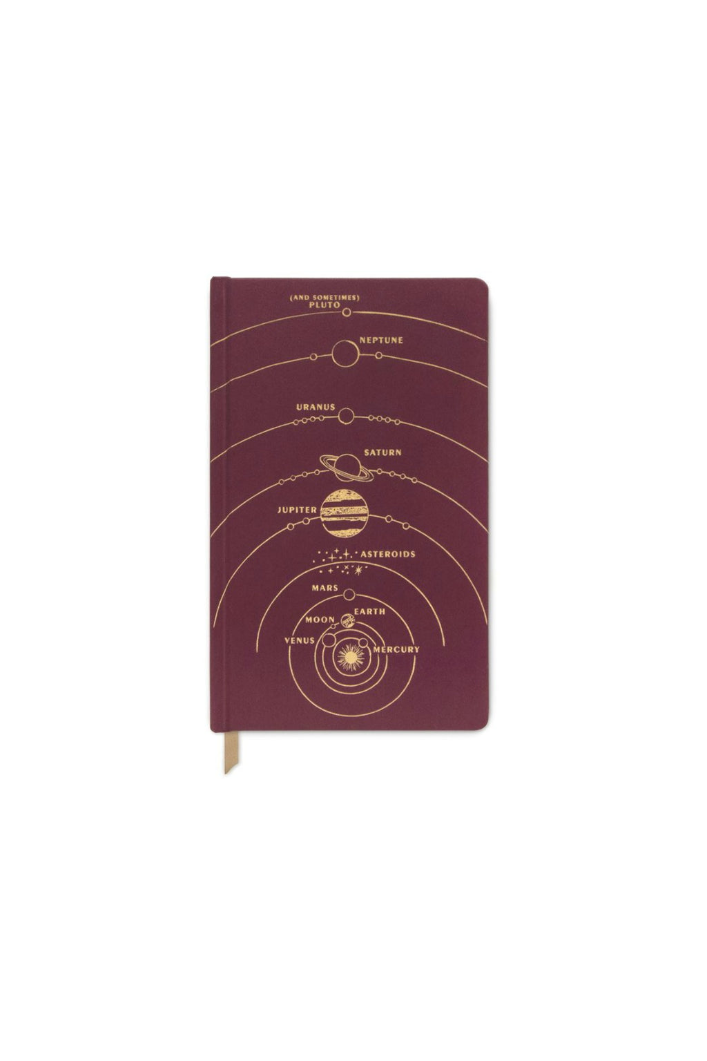 Designworks Ink Matte Hardcover Journal - Solar System