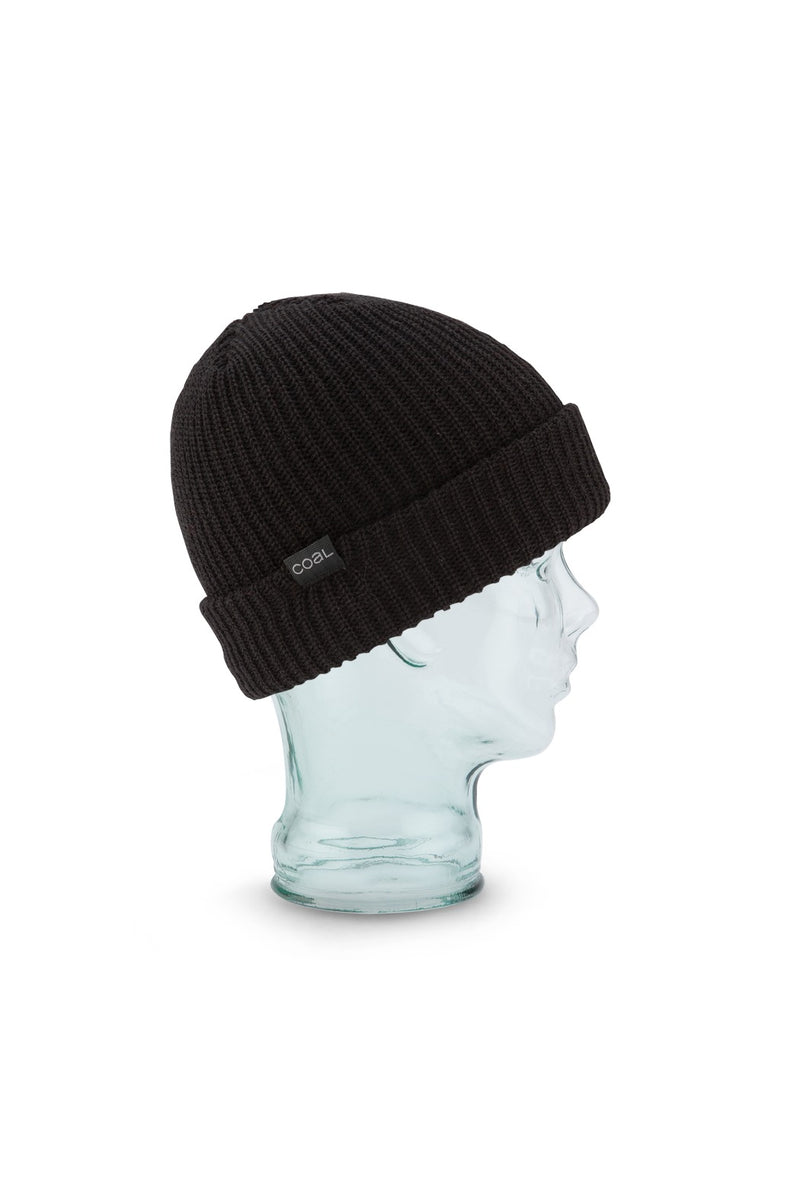 Coal Stanley Beanie in Black