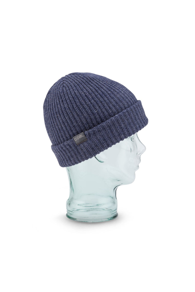 Coal Stanley Beanie in Heather Navy