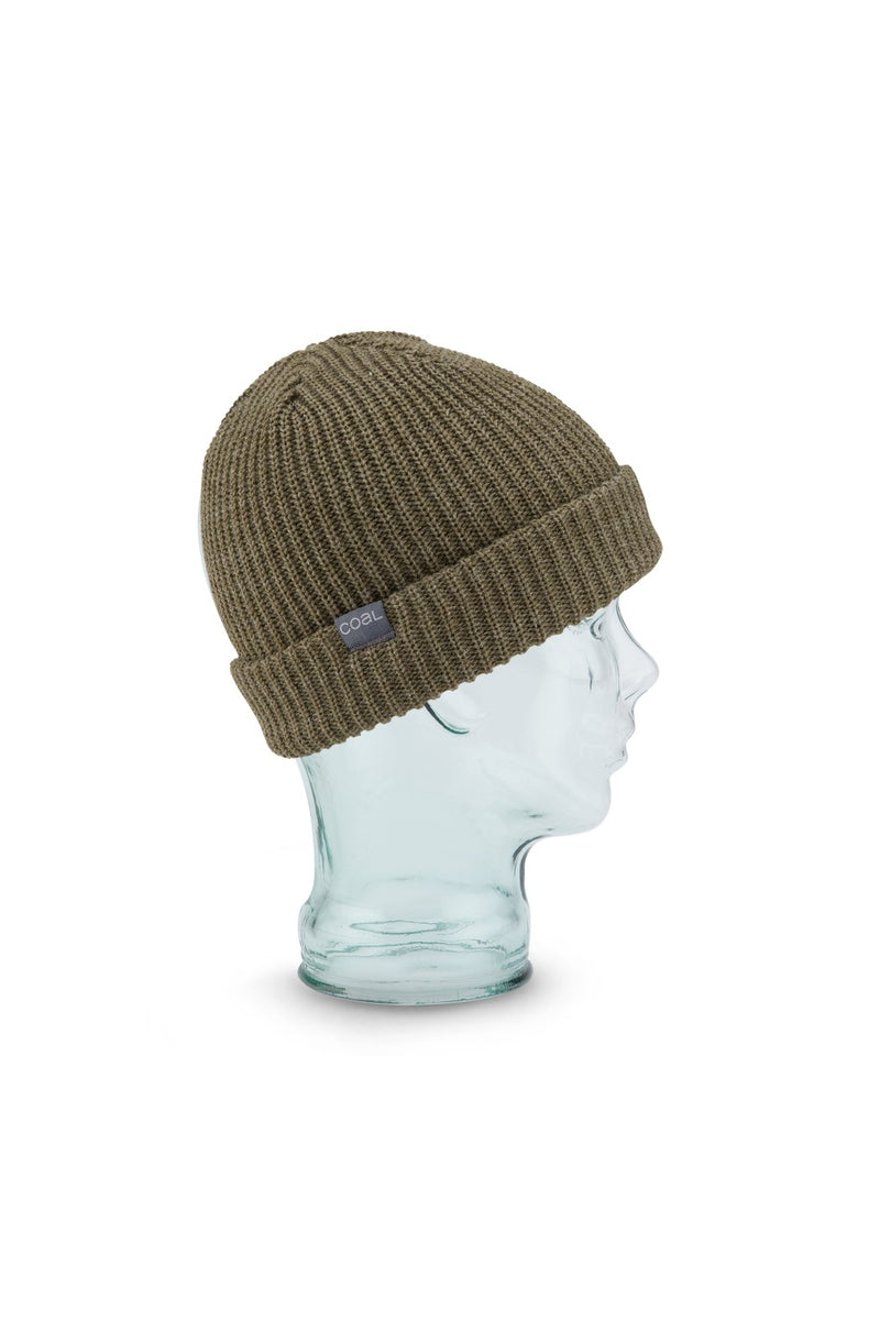 Coal Stanley Beanie - Heather Olive