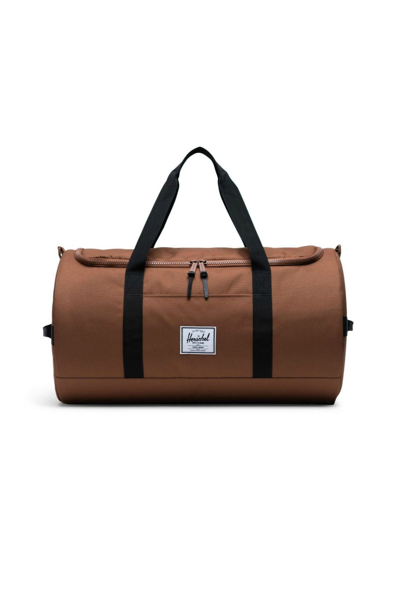 Herschel Supply Co. Sutton Mid Volume Duffel Bag - Saddle Brown/Black