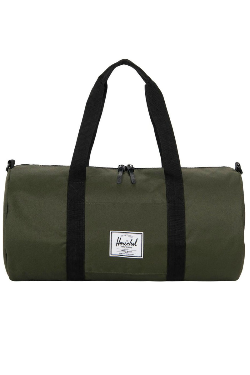 Herschel Sutton Mid Volume Duffel Bag in Forest/Black